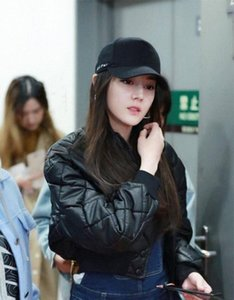 Korean Star With Fund Concise Letter Embroidery Curved Eaves Baseball Hats Woman Summer Fashion All Match Hip Hop Peaked Cap HN2E#