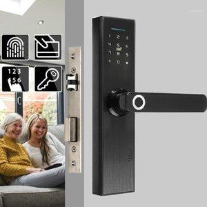Sécurité d'accès à l'empreinte digitale Sécurité de la porte de porte électronique Biométrie / numérique Code Smart Card Clé tactile pour la maison EL1