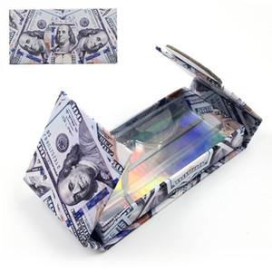 Mink Eyelashes Box US Dollars Eyelash Packaging Empty Lash Case Eyelash Box without Eyelashes Money Packing Lash Boxes