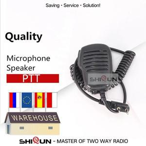 Gürültülü ve Clear PMicrophone Hoparlör Baofeng UV-82 TYT TH-UV8000D Quansheng TG-UV2 Artı Mikrofon Baofeng uv-5r aksesuarlar