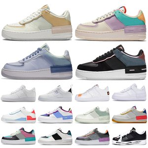 nike air force 1 shadow forces one shoes af1 airforce Plattform Low High Top Sneakers klassische Triple White Black Sapphire Herren Damen Casual Skate Skateboard Sporttrainer