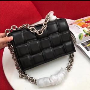 2020 جديد نمط الأزياء crossboby حقيبة للنساء مع سلسلة معدنية حزام مبطن كاسيت يد حقيبة حقيقية العجل جلدية سيدة حقائب اليد شحن مجاني