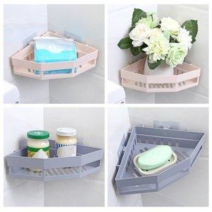 Кухонная полка, без следа, организатор душ, пластиковый всасывающего типа, индивидуальная посуда для хранения, пространство заставки
