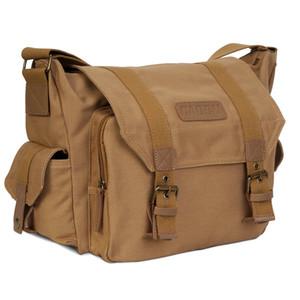 Caden cámara DSLR hombro bolso de la honda Foto Video Soft Bolsas Fotografía bolsa de paquete por caja protectora de viajes para Nikon Canon Sony C1008