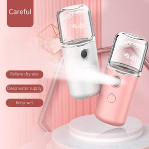 Portable Nano Sprayer USB Charge Handheld Facial Steamer 30ml Mini Electric Humidifier Skin Hydrating SPA Face Care Beauty Tools