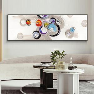Abstrakte minimalistische geometrische Malerei 100% handgemalte Ölgemälde auf Leinwand Landschaft Wandkunst für Heimdekoration