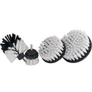 4-Piece Drill Brush Cleaning Tool for Car Cleaning, Scrubbing and Cleaning, Bathtub Brush Tile Scrub