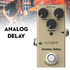NAOMI Analog Delay Pedal Electric Guitar Effects Pedal DC 9V True Bypass For Electric Guitar
