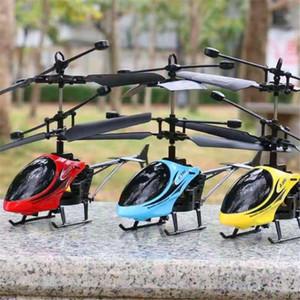 Vieruodis RC Hubschrauber 2 CH 2 -Kanal Mini RC Drohne mit Gyro Crash Resistent Spielzeug für Jungen oder Mädchen Kinder Geschenk Rot Gelb Blau