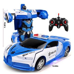 Remote Control Deformation Car Charging Remote Control Car Induction Transformation King Kong Robot Electric Remote Control Car Children Toy