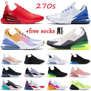 nike air max 270 react airmax 270 stock x Travis Scott الاحذية أعلى جودة الرجال النساء باستيل سافاري الفروسية الوردي مصمم أحذية رياضية في الهواء الطلق