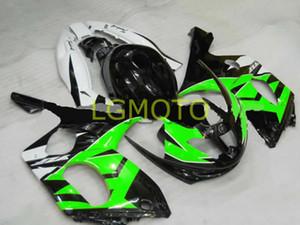 Инъекции обтекатели YAMAHA зеленый черный белый YZF 600R 98 99 корпус Комплекты YZF600R 04 05 Комплекты для тела YZF600R 02 03 1997 1998 1999 2000 2001-2007