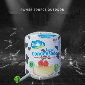 EZ9RT Werbung Eröffnung Modell große Kiste Milch Fuß Werbung Luftöffnung Box aufblasbare Aktivitäten Karikatur Aktivitäten große aufblasbare