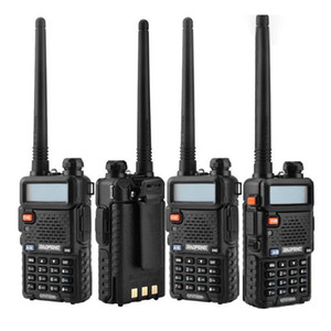 2020 Hot BaoFeng UV-5R UV5R Walkie Talkie Dual Band 136-174Mhz & 400-520Mhz Two Way Radio Transceiver with 1800mAH Battery free earphone