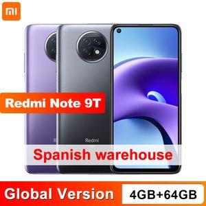 Xiaomi Redmi Note 9T 4GB 64GB NFC smartphone with dual 5G SIM cards 5000mAh 48MP camera
