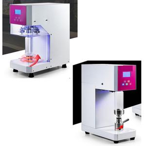 High-efficiency intelligent can sealing machine coffee milk tea can sealing equipment pet can sealing machine LCD panel