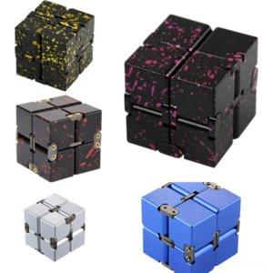 Aywof Actualización de aleación de aluminio Giiker Versión caliente original Super Gear DescomPresione Rubik's Cube Novelty Metal Puzzle Cube Smart Magic