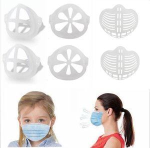 3D Mask Bracket Lipstick Protection Stand Face Mask Inner Enhancing Breathing Smoothly Cool Mask Holder Tools Reusable Accessory