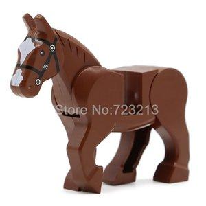 1pc Pferd Building Blocks Wild Animal Figure Set Militär Swat Moc Zubehör Big Bausteine Sets Kits Bricks Spielzeug qylRiU mywjqq