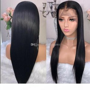 13x4 Straight Body Wave Lace Front Human Hair Wigs for Black Women Brazilian Peruvian Remy Hair Lace Front Wigs With Baby Hair Pre Plucked