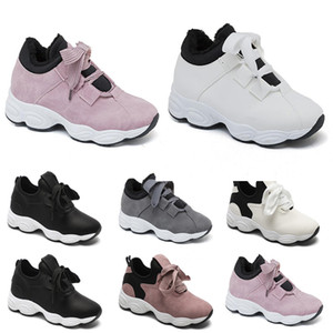 shipping Non-Brand free running shoes for women Chaussures White Black Pink Grey Suede fashion Sports Sneakers 36-40 Style 219
