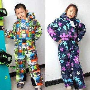 Suits for Children's Boys Girlsski Waterproof, Windproof and Warm Outdoor Big Kids Ski Wear
