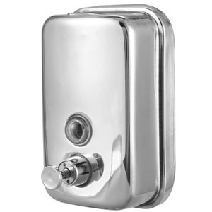 Best 500ml Bathroom Stainless Steel Wall Mounted Lotion Pump Soap Shampoo Dispenser