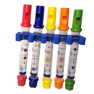 5шт вода флейты с Музыкой Sheets Holder ванны флейтой Музыкальной инструмента для ванны Игрушки для малышей Дети Дети Развивающего
