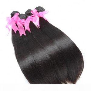 5 adetgrup 8 ~ 34 inç 100% İşlenmemiş Hint Saç Dokuma Düz İnsan Saç Uzantıları Yumuşak Remi İnsan Saç Greatremy