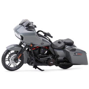 Maisto 1:18 CVO Road Strada Glide Die Cast Veicoli da collezione Hobby Motorcycle Model Toys LJ200930