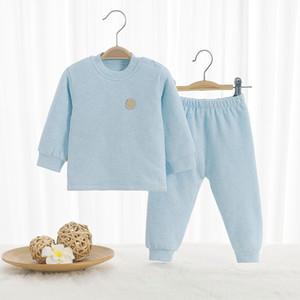u3rL Clothes Girls Cotton 2Pcs cardigan comfortable Pajama Sets Kids Baby Animal Child Pajamas For Casual Cartoon boy Sleepwear Outfits