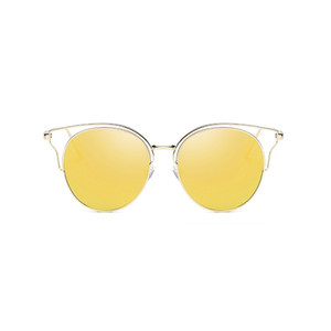 Uanview (Uanview Sunglasses Metal Hollow Fashion Fashion Woms's WD0874 colorido Nuevo FFMGD