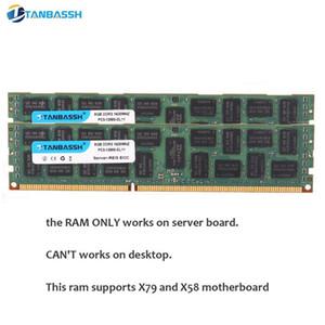 DDR3 4GB 8GB 16GB 32GB ECC-Server-Speicher 1333 1600 1.866 MHz DDR3 DIMM REG RAM unterstützt X58 X79 Motherboard