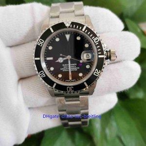 Лучший Maker Качество BP V5 Версия 40мм Vintage 16610 16610LN 50 лет CAL.2813 2836 3135 Движение Автоматическая Мужские часы Часы