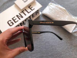 2020 새로운 한국어 디자인 남성 유행 GM 대형 프레임 선글라스 여성 빈티지 젠틀 썬은 기존 패키지 그녀의 Y200619 안경