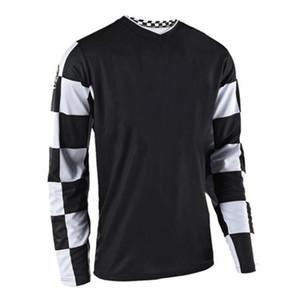 T Heißverkaufsgeschwindigkeit Drop T-Shirt Outdoor Off-Road Motorrad Racing Riding Polyester Schnelltrocknungsanzug Kann angepasst werden