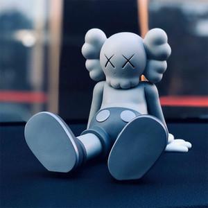 Hot 13 cm * 17 cm * 13 cm 0.8kg originaleDakyFake KAWS Taibei seduta posizione Companion Box originale Kaws Action figure modello decorazioni giocattoli regalo