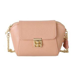 Elegant and beauty classic shell small bag Famous designer Ladies handbag Fashion Leather diagonal chain handbag High grade leather bag