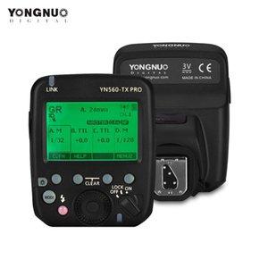 Yongnuo YN560-TX Pro 2.4G Flash Trigger Speedlite الارسال اللاسلكي ل DSLR كاميرا YN968N RF605 استقبال