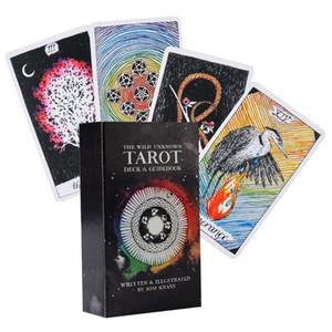 Sauvage inconnu Tarot 78 Cartes Full Deck English Tarot Family Party Board Game N58b bbyOMR bwkf