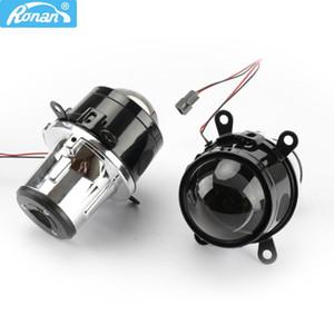 Ronan 2.5 'Universal Nebelscheinwerfer Objektiv BI Xenon Projektor H8 H9 H11 Metall BIFOCAL BIFOCAL DURCH WASSERFRÜHER FRONT BUMPER LAMPPIT
