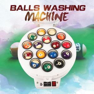 Bilardo Topu Yıkama Makinesi Havuzu 16 top Snooker 22 Toplar Temiz Otomatik Çamaşır Elektronik Makine Topu Clean Aksesuarları