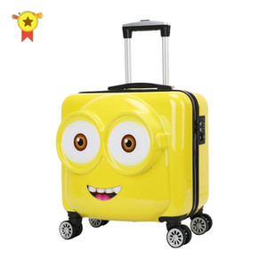 """Kids Cabin Suitcase Bag,Child's Universal wheel Trolley case,Portable Travel Luggage,Gift for children,18""""20"""" inch Rolling Box LJ201118"""