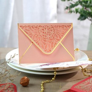15pcs lot Luxury Hot Stamping Envelopes Hollow Invitation Envelopes for Party, Wedding, Business, Opening Activity 175mm X 125mm1