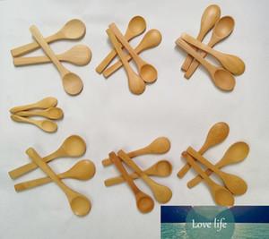 (50pcs) 9cm 13cm 15cm Wooden Spoons Honey Spoon Baby Bamboo Spoons