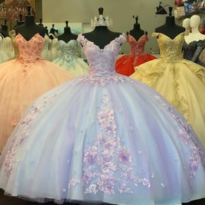 vestidos de fiesta Ball Gown Sweet 16 Dress 2020 vestidos de 15 años Crost Back Ball Gown Quinceanera Dresses