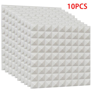 10 Pcs Foam 3D Brick Wall Stickers Self-Adhesive DIY Wallpaper Tile Wall Stickers for Panel Background Bedroom Decor