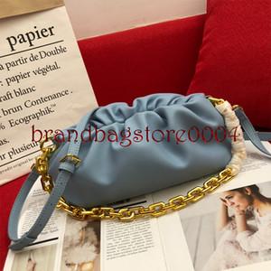 2021 Новая облачная сумка Женская сумка Весна и летнее Досуг Мода Сумка Универсальная цепная цепная наклона через сумочку