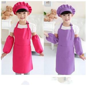 Lüftungsschürze Durable DIY Kinder Kinder Kinder DIY Mode Einstellbar Einfach zu reinigen Pinafore Küchenbedarf Kochbekleidung 4 85ym k2