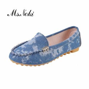 Mode chaussures uniques de 2020 chaussures lager été de taille femmes plates-formes dames de toile à bout rond occasionnel des écolières printemps